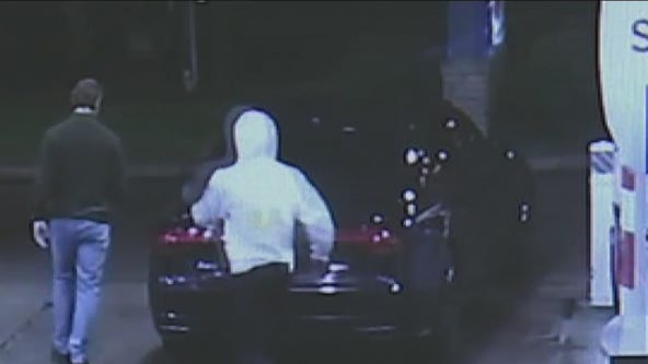 Robber steals 2 luxury cars at gunpoint, can't figure out how to drive away