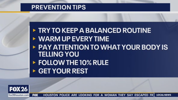 New year, new you: helping you prevent workout injuries