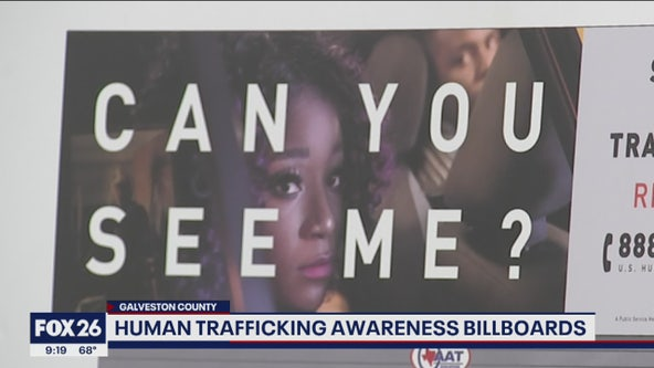 Can you see me? Billboards designed to help victims and raise awareness about human trafficking