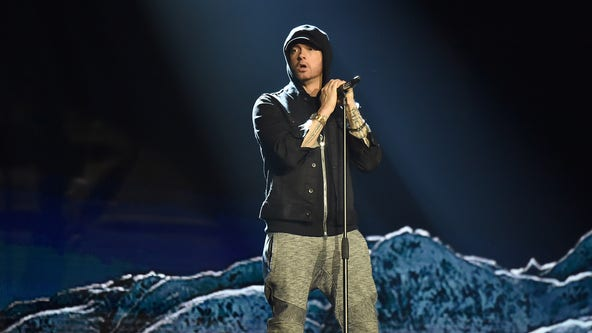 Eminem drops surprise album, advocates changes to gun laws