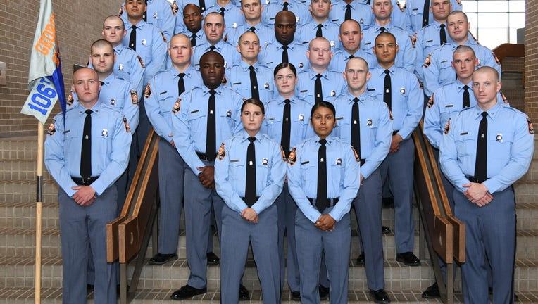 Georgia State Patrol's 106th Trooper Class