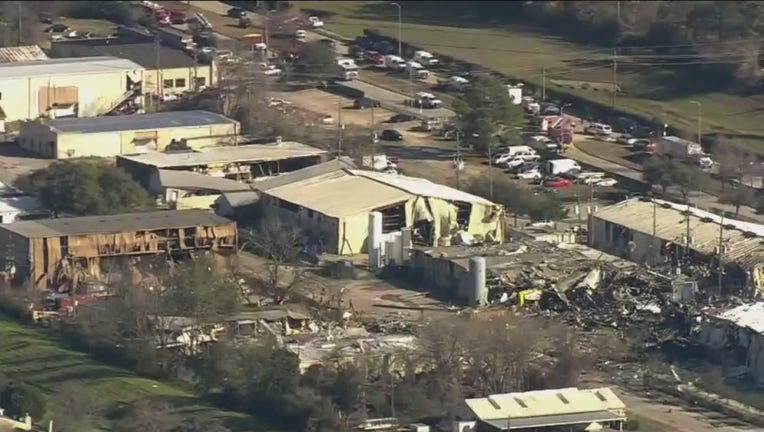 Northwest Houston explosion at Watson Grinding and Manufacturing