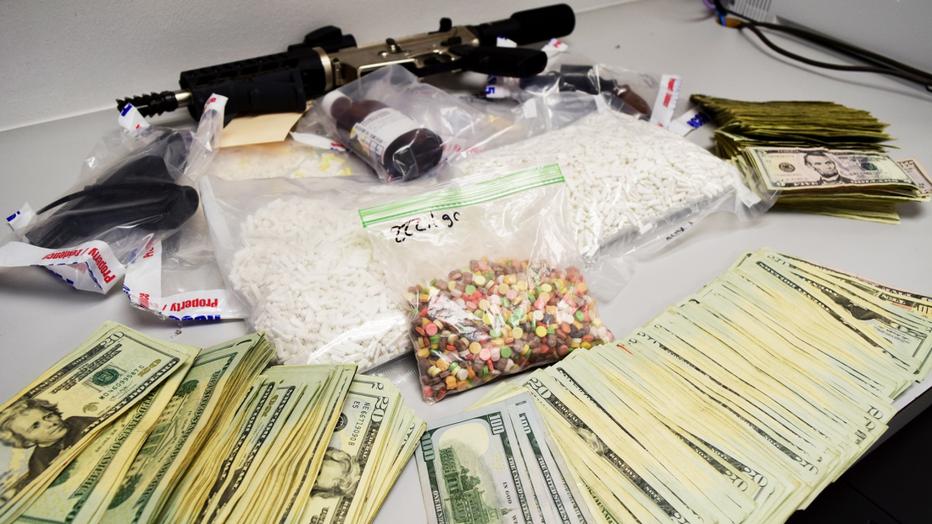 Drug arrest in Katy