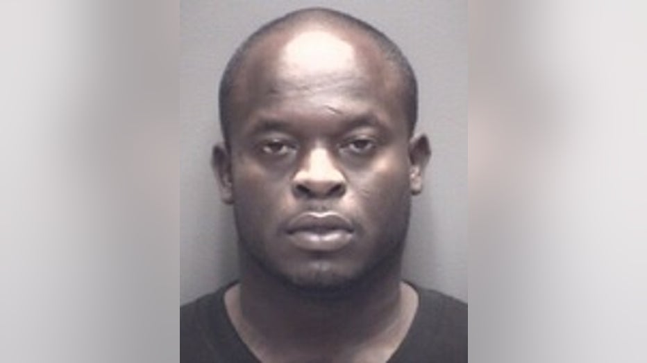 Percy Epps, arrested for burglary in which a monkey went missing