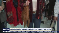 Finding rodeo fashion at thrift stores