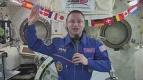 Colonel swears in future soldiers across country from International Space Station