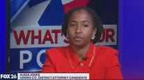 Democratic primary candidate for Harris Co. District Attorney - Audia Jones