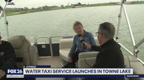 Water taxi service launches in Towne Lake