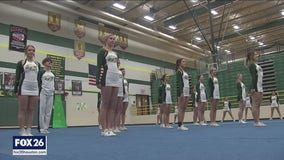 Santa Fe HS Cheerleaders win national title