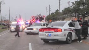 HPD officer, deputy shoot suspect