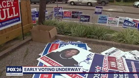 Early voting now underway in Harris County ahead of primary