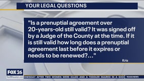 Your Legal Questions: Medical bill & prenuptial agreement
