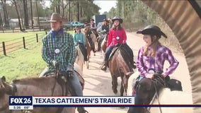 Trail riders head to Houston ahead of the Livestock Show & Rodeo