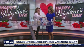 Healthy, kissable lips for Valentine's Day