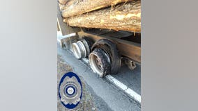 Truck driver's lack of tires becomes Georgia police's 'Violation of the Week'