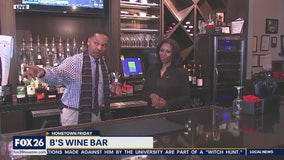 A look at B's Wine Bar in Missouri City!