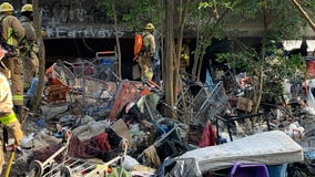 Officials consider next steps after large homeless camp fire in NE Austin