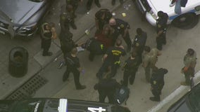High-speed chase ends in downtown Houston; suspect arrested