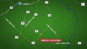 1 dead after major crash in Fort Bend County