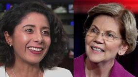 Harris County Judge Lina Hidalgo endorses Elizabeth Warren for president