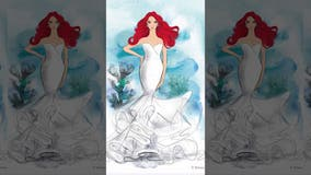 Disney unveils princess-inspired wedding dress line