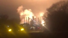 Fire erupts at ExxonMobil refinery in Louisiana