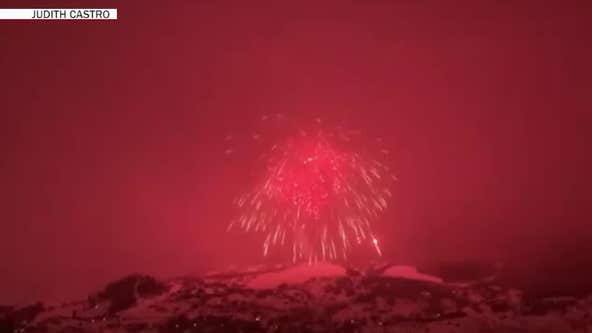 Record for world's largest firework broken with epic explosion