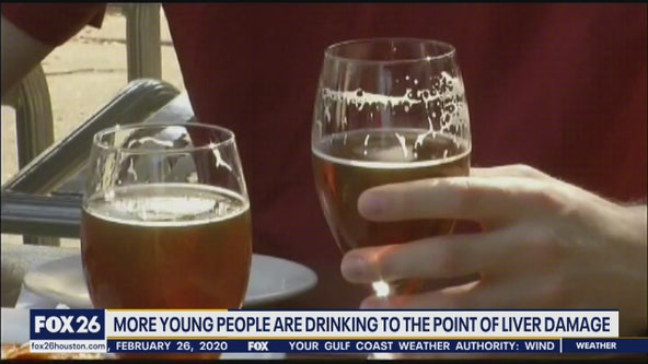 Younger patients are dealing with liver damage because of alcohol consumption