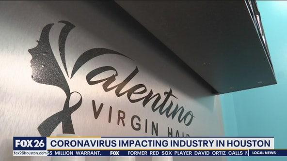 Coronavirus impacting hair industry in Houston