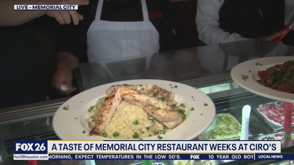 A taste of Memorial City Restaurant Weeks at Ciro's