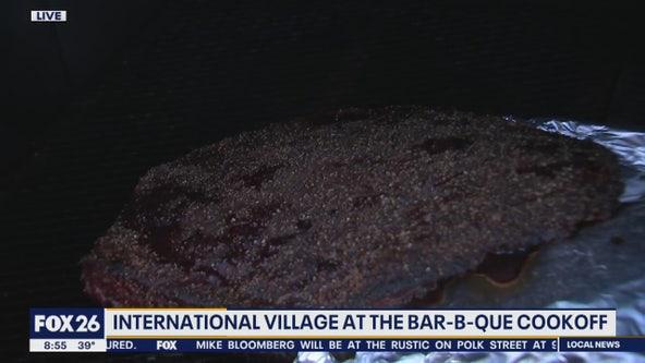 International Village at the Bar-B-Que Cookoff