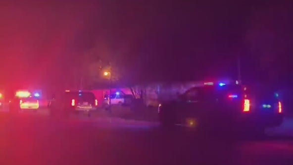Two shot and killed at mobile home park in Texas City, suspect dead after standoff with police