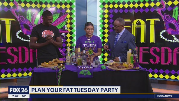 Hosting a Fat Tuesday party