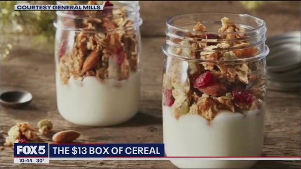 Would you pay $13 for a box of cereal?