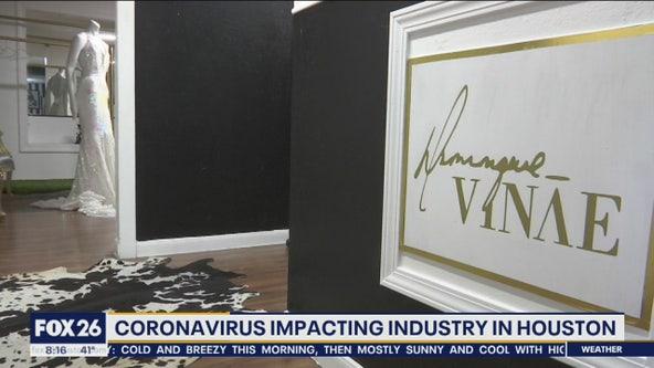 Coronavirus impacting fashion industry in Houston