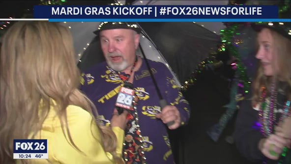 Bayou City Buzz: Mardi Gras in Galveston Kickoff celebration