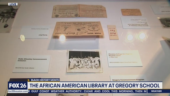 The African American Library at the Gregory School