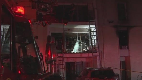 Firefighter injured at scene of 3-alarm fire