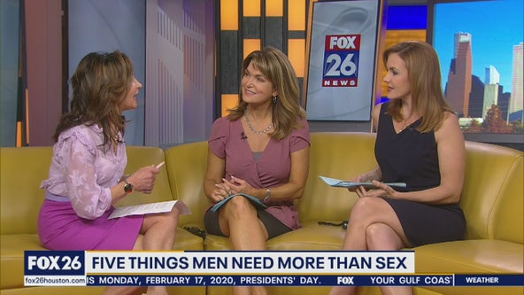 5 things men need more than sex