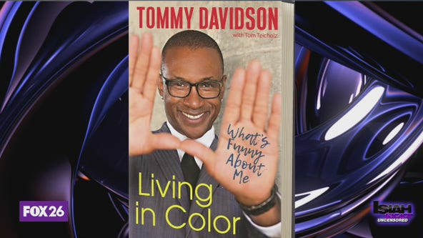 Tommy Davidson tells incredible life story about being discovered in a dump as a baby