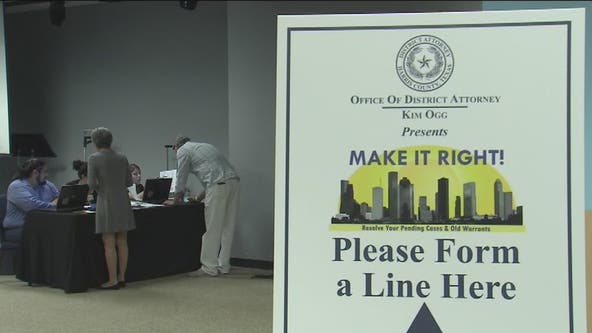Make It Right event this weekend helps people resolve old warrants in Houston