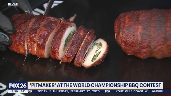 'Pitmaker' at the World's Championship Bar-B-Que Contest