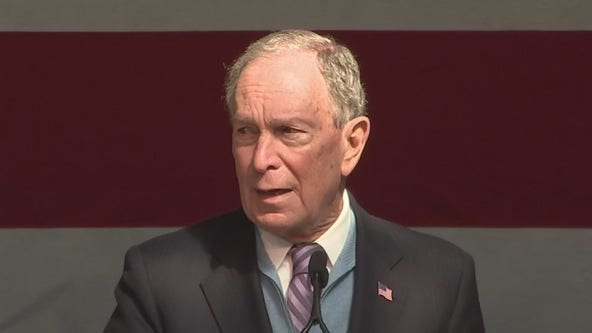 Michael Bloomberg courting Houston voters ahead of Super Tuesday