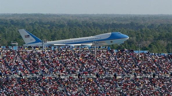 Trump campaign reportedly shares 2004 photo of Air Force One at Daytona, appearing to say it was from 2020