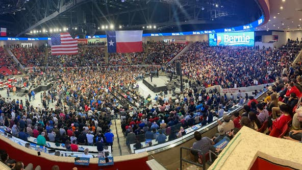 Bernie Sanders holds rally in Houston following caucus victory