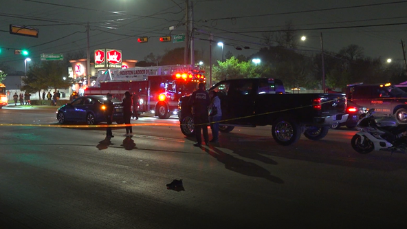 Authorities find man dead on the scene of auto-pedestrian accident