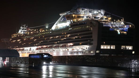 Japan confirms 99 more cases of coronavirus on Diamond Princess cruise ship