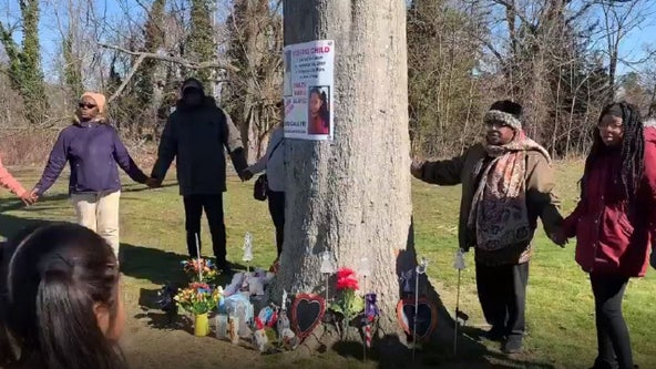 Dulce Maria Alavez memorial moved to nearby tree as search for missing 5-year-old continues