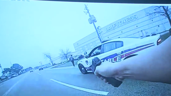 Body cam shows suspect chased, shot 7 times by deputy