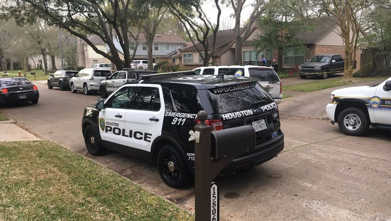 Clear Lake officers find adult male and female deceased in an apparent murder-suicide.
